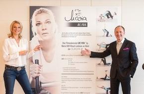 Hapag-Lloyd Kreuzfahrten GmbH: Neues Fitnesskonzept von Dreifach-Olympiasiegerin Maria Höfl-Riesch exklusiv für die EUROPA 2