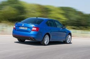 Skoda Auto Deutschland GmbH: Premiere: SKODA Octavia RS ab sofort mit Allradantrieb bestellbar