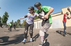 Schtifti Foundation: Freestylesport trotz kognitiver oder körperlicher Behinderung / GORILLA Inklusions-Workshops