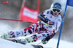 Lech Zürs Tourismus GmbH: Nina Ortlieb ist Junioren-Weltmeisterin im Super-G