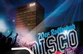 Interessengemeinschaft Zentrum Glatt: 40 und einmalig - das Glatt lädt zur Rollschuh-Disco und lässt die 70s aufleben