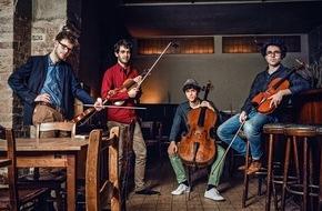 SWR - Südwestrundfunk: Vision String Quartet gibt sein Debüt in Schwetzingen