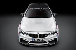 BMW Group: BMW auf der SEMA 2015 / BMW M Performance: neuer Schriftzug, neue Parts.