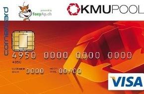 KMU-Pool Schweiz AG: KMU-POOL Gruppe Schweiz: Die Konsumenten bleiben in der Schweiz, dank neu lancierter Universalkarte