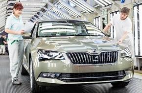 Skoda Auto Deutschland GmbH: SKODA Produktion läuft nach Werksferien wieder auf Hochtouren