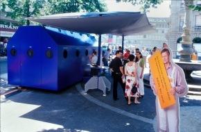 Nagra: Schaffhausen: Informationstour über radioaktive Abfälle auf dem Fronwagplatz eröffnet