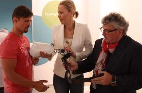 Otto Bock HealthCare GmbH: Bettina Wulff engagiert sich für die Paralympics London 2012 - Botschafterin der Menschen mit Handicap