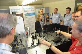 """NTB Interstaatliche Hochschule für Technik: Ein neues Prüfzentrum für optische Schichten wurde an der NTB Buchs eingeweiht sowie ein gut besuchter Swissphotonics Workshop """"Optische Beschichtungen für Laseranwendungen"""" durchgeführt"""
