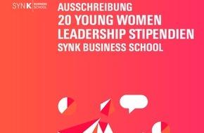 SYNK GROUP GmbH & Co. KG: Qualifizierung vor Quote - Startschuss für Young Women Leadership Stipendienprogramm / SYNK Business School fördert künftig 20 weibliche Nachwuchsführungskräfte