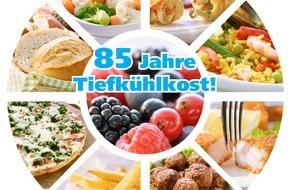 Deutsches Tiefkühlinstitut e.V.: 85 Jahre Tiefkühlkost / Die Produkte aus der Kälte feiern Jubiläum