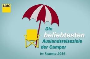 Camper zieht es nach Oberbayern und ins Allgäu / ADAC hat knapp 100.000 Routenanfragen ausgewertet