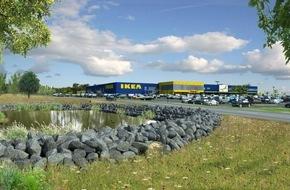 IKEA Deutschland GmbH & Co. KG: IKEA Wuppertal feiert Richtfest - Nachhaltigkeit und erneuerbare Energien im Fokus