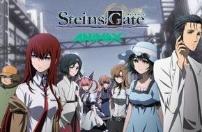 """Sky Deutschland: Anime-Kultserie """"Steins;Gate"""" vor linearer Ausstrahlung auf Animax ab heute exklusiv auf Sky Go"""