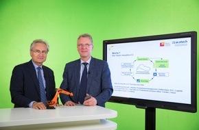 HPI Hasso-Plattner-Institut: Industrie 4.0: HPI und acatech starten neuen Online-Kurs für Unternehmen