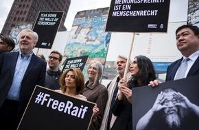 """Amnesty International: Amnesty: Die Mauern der Zensur einreißen / Vor der feierlichen Verleihung des """"Ambassador of Conscience Award"""" 2015 setzen beteiligte Künstler ein Zeichen für Meinungsfreiheit"""