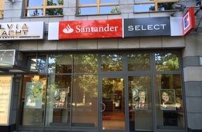 Santander Consumer Bank AG: Santander mit neuem Angebot für vermögende Privatkunden