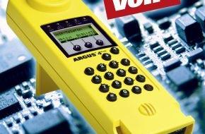 intec Gesellschaft für Informationstechnik mbH: intec präsentiert flexible und preiswerte Einstiegstester für VoIP, ADSL und ISDN / Günstige Aktionspreise für Voice- bzw. ADSL-Anschlusstester ARGUS 4 plus und ADSL-Basistester ARGUS 41 plus