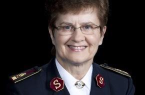 Heilsarmee / Armée du Salut: Die Heilsarmee erwartet ihre internationale Leiterin: Generalin Linda Bond besucht die Schweiz