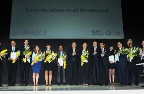 BMW Group: United Nations Alliance of Civilizations (UNAOC) und BMW Group verleihen Intercultural Innovation Award 2014