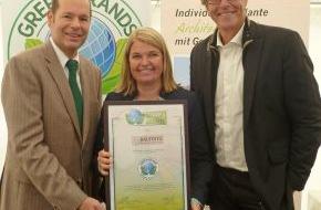 Green Brands: Ökohaus-Pionier BAUFRITZ erhält internationale GREEN BRANDS-Auszeichnung