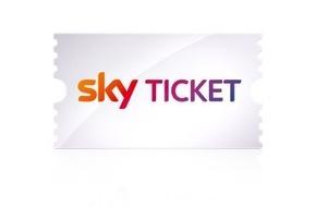 Sky Deutschland: Sky Ticket - der neue Weg zu Sky mit sofortigem Zugriff und flexiblen Laufzeiten