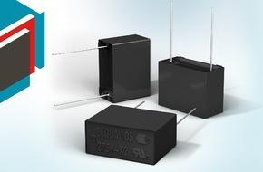 Distrelec, Zweigniederlassung der Dätwyler Schweiz AG: Distrelec erweitert Panasonic-Sortiment um ECQUA-Folienkondensatoren