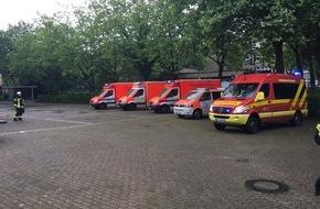 Feuerwehr Erkrath: FW-ME: Pfefferspray in Schule versprüht - Großeinsatz von Feuerwehr und Rettungsdienst