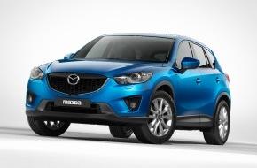 Mazda (Suisse) SA: Mazda CX-5: un crossover compact de haut niveau technologique et à prix très attractif