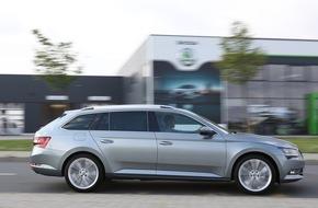 Skoda Auto Deutschland GmbH: Neuer SKODA Superb Combi: Händlerpremiere am 26. September