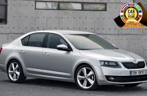 Skoda Auto Deutschland GmbH: Neuer SKODA Octavia als 'Car of the Year 2014'-Finalist nominiert
