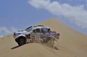 """Ford-Werke GmbH: Europa-Premiere: Die """"Dakar""""-Version des Ford Ranger auf dem Genfer Automobilsalon 2014"""