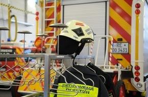Feuerwehr Dorsten: FW-Dorsten: Pkw-Fahrerin mit viel Glück im Unglück auf der BAB 31