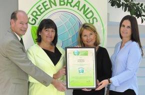 Green Brands: Börlind zu den GREEN BRANDS Germany ausgezeichnet