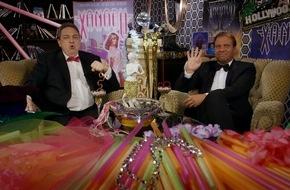 """Tele 5: Achtung: Hollywood-Glitzer-Rollschuh-Alarm! / Auch Kino-Hochkaräter können richtig daneben gehen! Oliver Kalkofe und Peter Rütten präsentieren """"SchleFaZ: Xanadu"""" am 10. Juli um 22:15 Uhr auf TELE 5"""