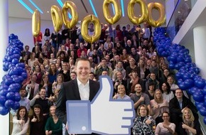 AIDA Cruises: AIDA sagt Danke an eine Million Facebook-Fans