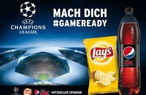 PepsiCo Deutschland GmbH: Champions League hautnah erleben mit Pepsi MAX und Lay's
