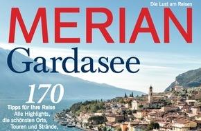 """Jahreszeiten Verlag, MERIAN: """"Gardasee - Das blaue Wunder"""" / Neu: MERIAN Gardasee erscheint am 27. Mai 2016"""