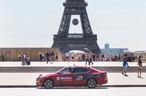 Skoda Auto Deutschland GmbH: Langjährige Partnerschaft: SKODA zum dreizehnten Mal Sponsor der Tour de France