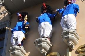 """Grand Hotel Les Trois Rois: """"Drei Könige"""" rüsten sich für die Basler Fasnacht"""