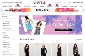Just Fabulous GmbH: JustFab stellt erste Modekollektion vor