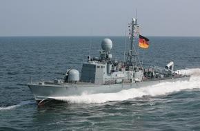 Presse- und Informationszentrum Marine: Schnellboot zum UNIFIL-Einsatz