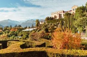Die Gärten von Schloss Trauttmansdorff: Goldener Herbst in den Gärten von Schloss Trauttmansdorff