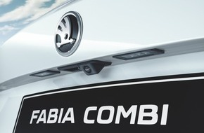 Skoda Auto Deutschland GmbH: SKODA Fabia jetzt mit adaptivem Abstandsassistenten und Rückfahrkamera erhältlich