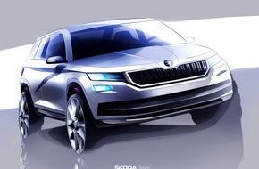 Skoda Auto Deutschland GmbH: Funktionalität in ihrer schönsten Form: der neue SKODA Kodiaq