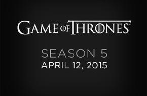 """Sky Deutschland: Exklusiv auf Sky: die fünfte Staffel von """"Game of Thrones"""" ab 12. April"""