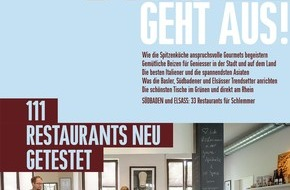 BASEL GEHT AUS!: Das neue BASEL GEHT AUS! 2015 ist da / Die 111 besten Restaurants / Auf 180 Seiten / Für jeden Geschmack das Richtige