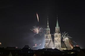 Congress- und Tourismus-Zentrale Nürnberg: 4. Silvestival lockt mit prallem Mix aus Musik und Show in Nürnbergs Altstadt