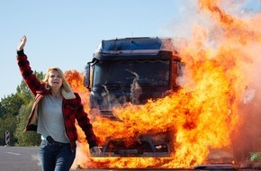 """SAT.1: SAT.1 gibt Gas mit Annette Frier als """"Die Truckerin"""": Start ins Deutsche-Fiction-Frühjahr am 2. Februar 2016"""