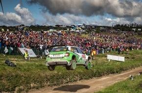 Skoda Auto Deutschland GmbH: WRC 2: SKODA will bei der Vollgas-Show in Polen auf Siegkurs bleiben