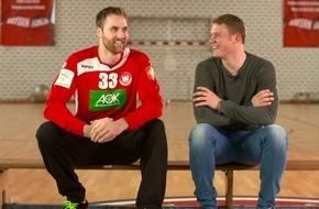 "Sky Deutschland: Manuel Neuer zollt den Europameistern Respekt: ""Handball ist der härtere Sport"" (FOTO)"
